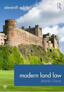 Picture of Modern Land Law 11ed