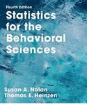 Picture of Statistics for the Behavioral Sciences