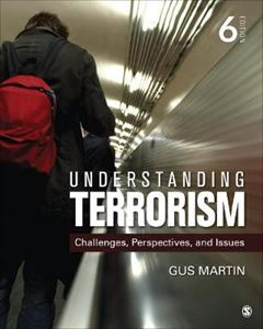 Picture of Understanding Terrorism: Challenges, Perspectives, and Issues 6ed