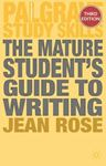 Picture of Mature Student's Guide to Writing 3ed