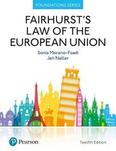 Picture of Fairhurst's Law of the European Union 12ed