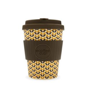 Picture of ecoffee cup - Natural Bamboo Fibre - Threadneedle