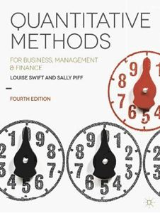 Picture of Quantitative Methods: for Business, Management and Finance 4ed