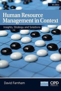 Picture of Human Resource Management in Context: Insights, Strategy and Solutions 4ed