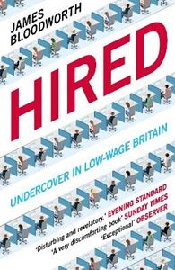 Picture of Hired: Six Months Undercover in Low-Wage Britain