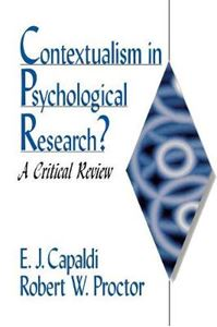 Picture of Contextualism in Psycholocical Research