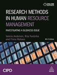 Picture of Research Methods in Human Resource Management: Investigating a Business Issue 4ed