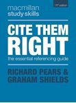 Picture of Cite Them Right: The Essential Referencing Guide 11ed