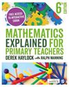 Picture of Mathematics Explained for Primary Teachers 6ed
