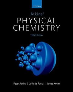 Picture of Atkins' Physical Chemistry 11ed