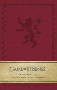 Picture of Game of Thrones: House Lannister Ruled Pocket Journal