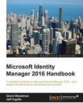 Picture of Microsoft Identity Manager 2016 Handbook