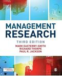 Picture of Management Research: Theory and Practice 3ed