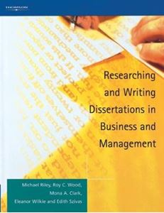 Picture of Researching and Writing Dissertations in Business and Management