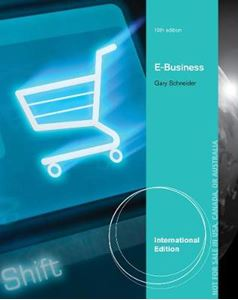 Picture of E-Business: International edition 10ed