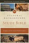 Picture of NRSV, Cultural Backgrounds Study Bible, Hardcover, Comfort Print: Bringing to Life the Ancient World of Scripture
