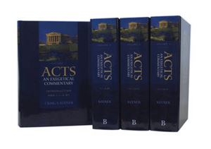 Picture of Acts: An Exegetical Commentary