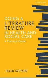 Picture of Doing a Literature Review in Health and Social Care: A Practical Guide 4ed