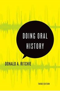 Picture of Doing Oral History: A Practical Guide 3ed
