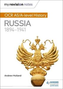 Picture of My Revision Notes: OCR AS/A-level History: Russia 1894-1941