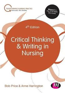 Picture of Critical Thinking and Writing in Nursing 4ed