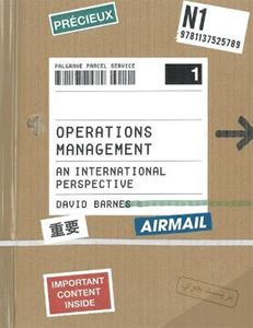 Picture of Operations Management: An International Perspective