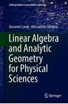 Picture of Linear Algebra and Analytic Geometry for Physical Sciences