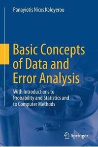 Picture of Basic Concepts of Data and Error Analysis: With Introductions to Probability and Statistics and to Computer Methods