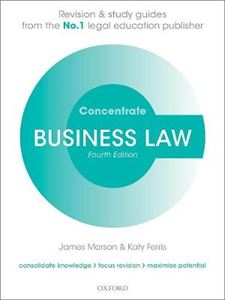 Picture of Business Law concentrate 4ed: Law Revision and Study Guide