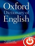 Picture of Oxford Dictionary of English