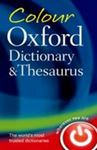 Picture of Colour Oxford Dictionary & Thesaurus
