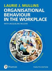 Picture of Mullins: OB in the Workplace 12ed