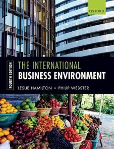 Picture of International Business Environment 4ed
