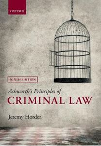 Picture of Ashworth's Principles of Criminal Law 9ed