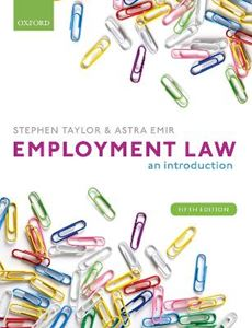 Picture of Employment Law: An Introduction 5ed