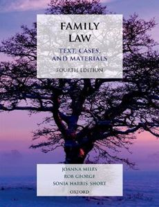 Picture of Family Law: Text, Cases, and Materials 4ed