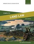 Picture of Complete Land Law: Text, Cases, and Materials 6ed