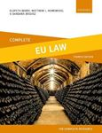 Picture of Complete EU Law: Text, Cases, and Materials 4ed