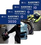 Picture of Blackstone's Police Manuals 2020: Four Volume Pack
