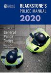 Picture of Blackstone's Police Manuals Volume 4: General Police Duties 2020