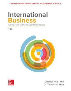 Picture of International Business: Competing in the Global Marketplace 12ed