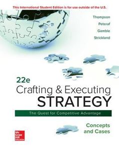 Picture of Crafting & Executing Strategy: Concepts and Cases 22ed