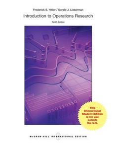 Picture of Introduction to Operations Research with Access Card for Premium Content 10ed