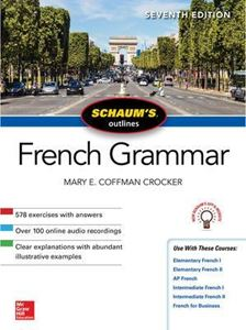 Picture of Schaum's Outline of French Grammar 7ed