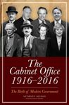 Picture of Cabinet Office 1916-2016: The Birth of Modern Government