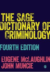 Picture of Sage Dictionary Criminology 4ed