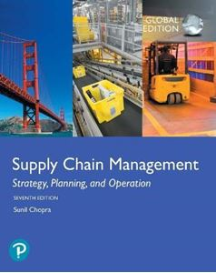 Picture of Supply Chain Management: Strategy, Planning, and Operation, 7ed