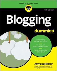 Picture of Blogging For Dummies 9ed