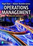 Picture of Operations Management 9ed