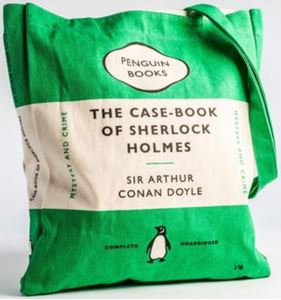 Picture of CASEBOOK OF SHERLOCK HOLMES BOOK BAG